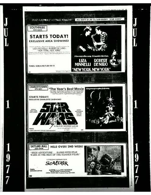 STAR WARS - Observer, 1977