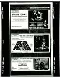 <p>A Full page ad from July 1st, 1977 advertising STAR WARS at Charlottetown. Also, a few other ads for local theaters.</p>
