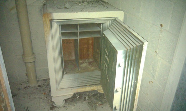 Old safe