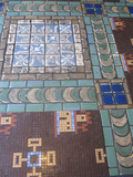 Palace Theatre,m Canton, OH - Terazzo floor tiles