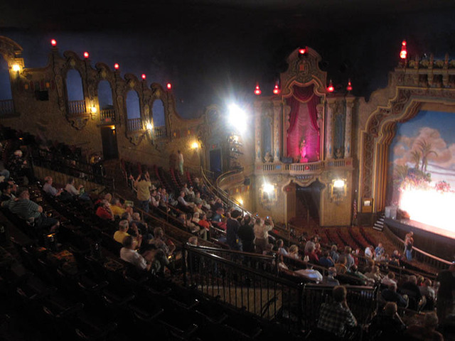 Palace Theatre, Canton, OH - Auditorium from Balcony