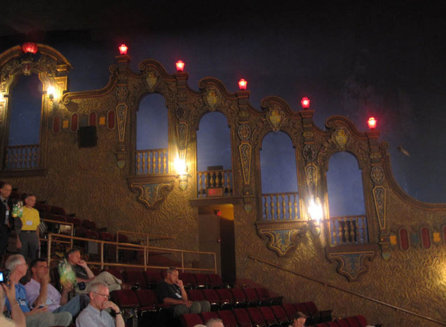Palace Theatre, Canton, OH - Balcony Sidewall