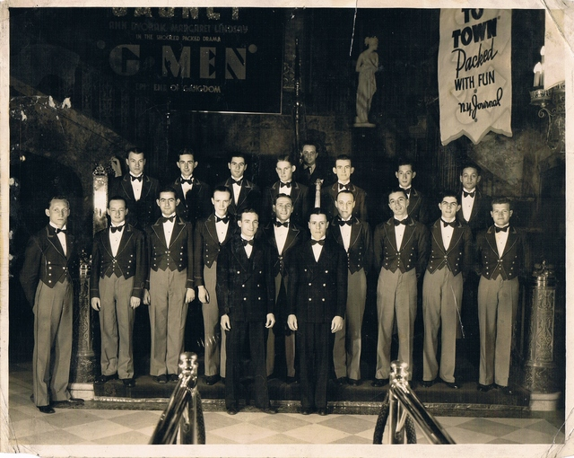 BROOKLYN PARAMOUNT STAFF 1935