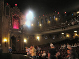 Palace Theatre, Canton, OH -  - Auditorium and sidewall from stage
