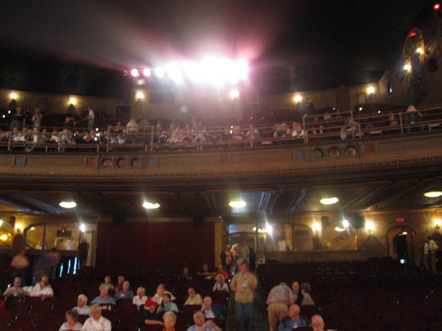 Palace Theatre, Canton, OH -  - Auditorium from Stage
