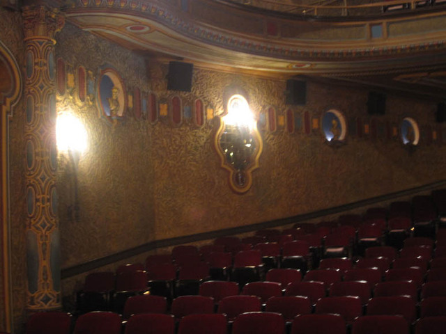 Palace Theatre, Canton, OH -  Rear Orchestra
