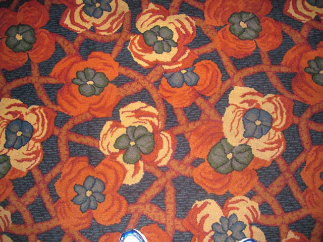Palace Theatre, Canton, OH - Carpet Detail