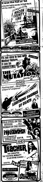 The Mutations / Lightning Swords of Death