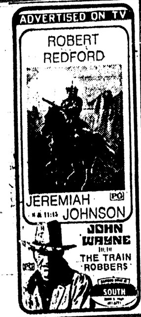 Jeremiah Johnson / The Train Robbers