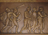 Palace Theatre, Canton, OH - Bas Relief Detail - Upper Lobby