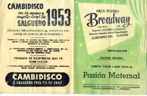 hand program 1954