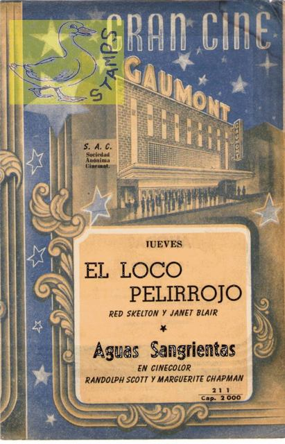 Hand program 1949
