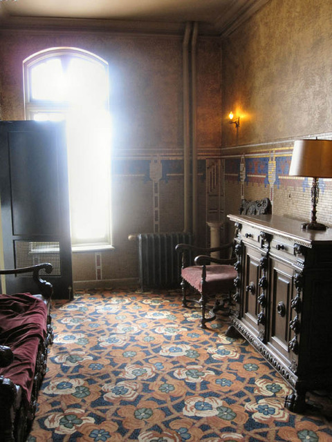 Palace Theatre, Canton, OH - Upper Men's Lounge