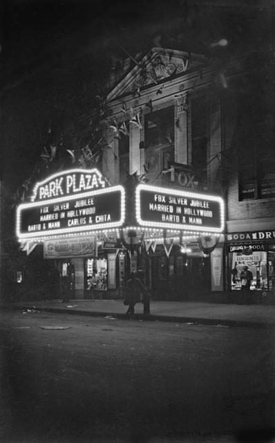 Park Plaza Theatre, Bronx, NY -- 1929