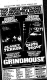 Grindhouse: Planet Terror and Death Proof