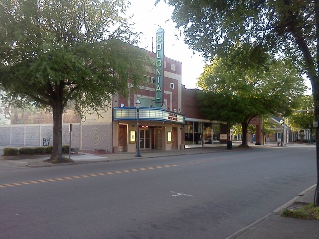 Colonial Theater at Twilight