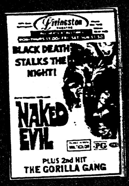 """Naked Evil""/""The Gorilla Gang"""