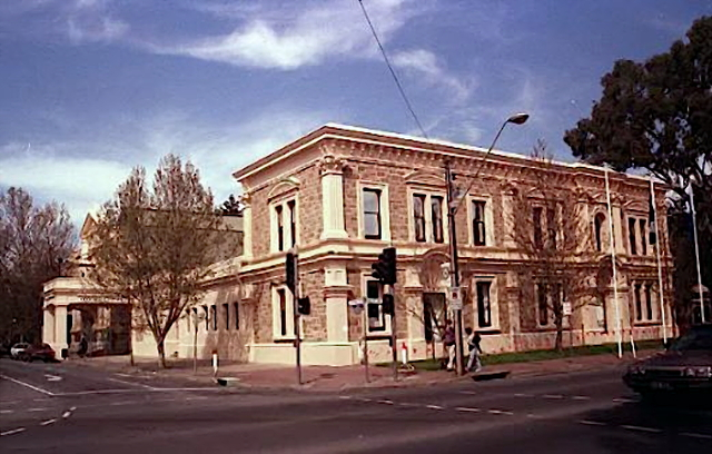 The Unley Town Hall.