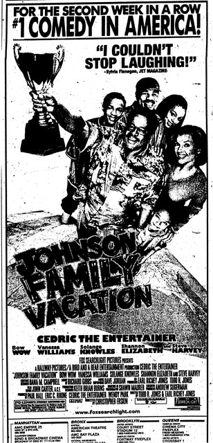 &quot;Johnson Family Vacation&quot;