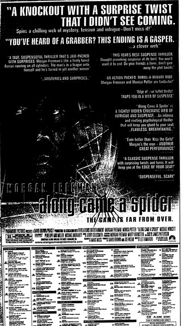 """Along Came a Spider"""