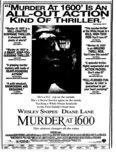 """""""Murder at 1600"""""""