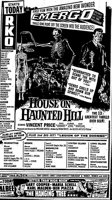 """House on Haunted Hill"""