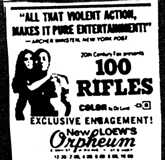"""100 Rifles"""