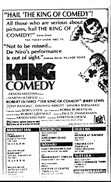"""The King of Comedy"""