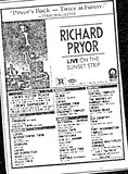 """Richard Pryor Live on the Sunset Strip"" (1982)"