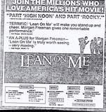 """Lean on Me"