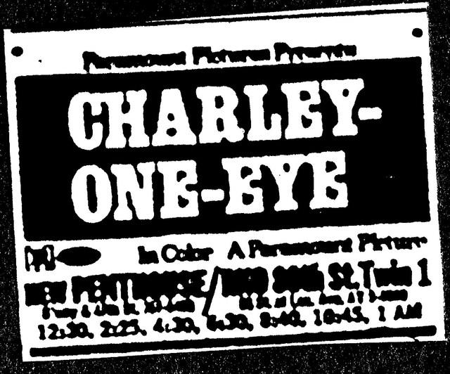 """""""Charley-One-Eye"""""""