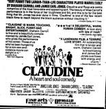 """""""Claudine"""""""