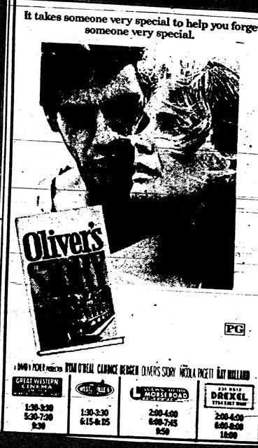 """Oliver's Story"""