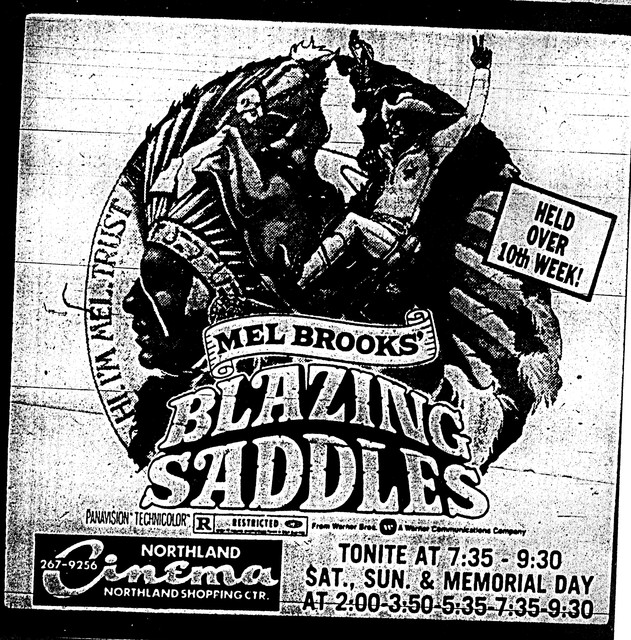 """Blazing Saddles"""