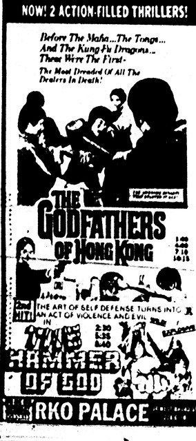 """The Godfathers of Hong Kong""/""The Hammer of God"""