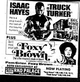 """Truck Turner""/""Foxy Brown"""