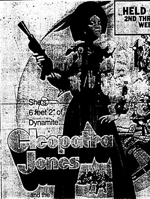 """Cleopatra Jones"""