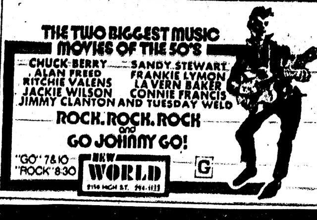 """Rock, Rock, Rock""/""Go Johnny Go"""