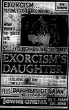 """Exorcism's Daughter""/""Daughters of Satan"""