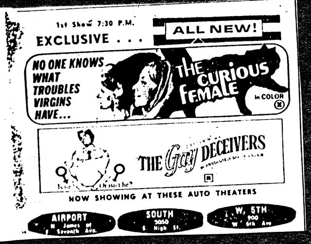"""The Curious Female""/""The Gay Deceivers"""