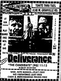 """Deliverance""/""The Candidate"""