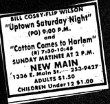 """Uptown Saturday Night""/""Cotton Comes to Harlem"""