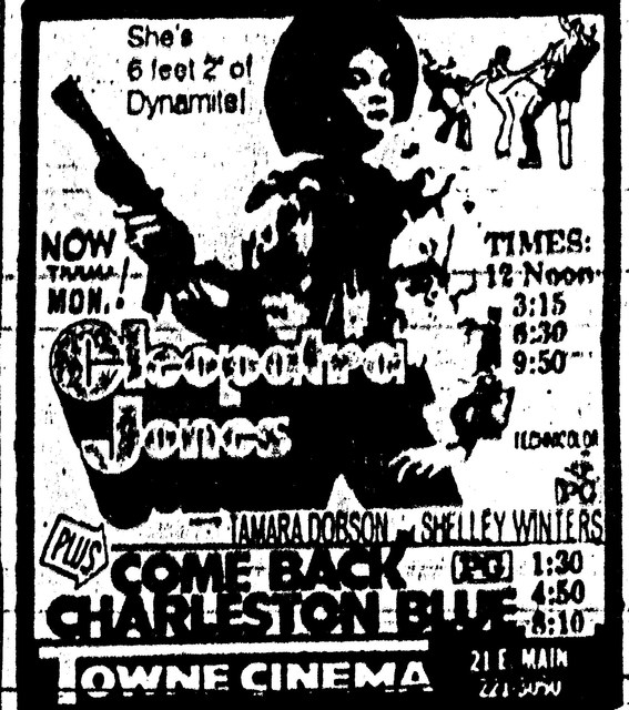 """Cleopatra Jones""/""Come Back Charleston Blue"""
