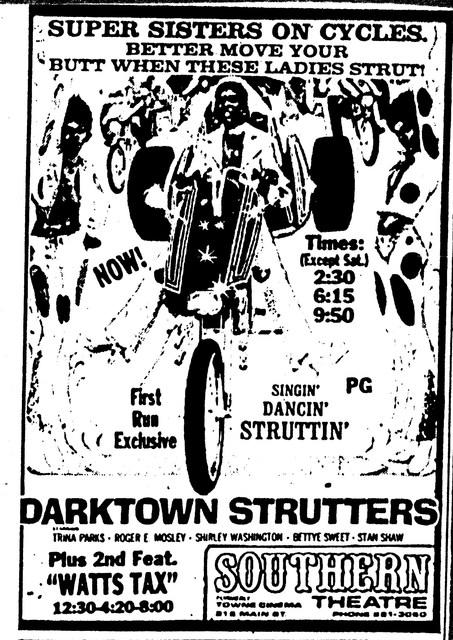 """""""Darktown Strutters""""/""""Wattstax"""""""