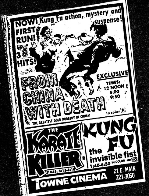 """From China With Death""/""The Karate Killer""/""Kung Fu the Invisible Fist"""