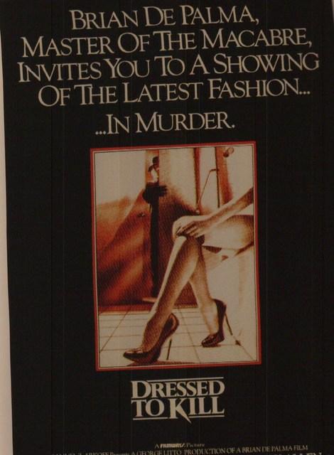 """Dressed to Kill"""
