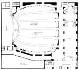 Marbro Theatre, Chicago - Floor Plan