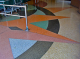 De Anza Theater 2011 - entrance tile design
