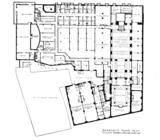Metropolitan (Wang) Theatre, Boston - Basement Floor Plan