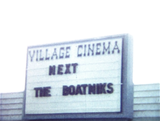 BRIARCLIFF VILLAGE THEATRE marquee for NEXT ATTRACTION